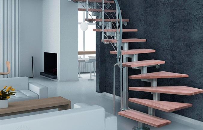 Деревянные и модульные лестницы фото